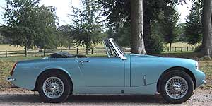 Mg midget tuning good information